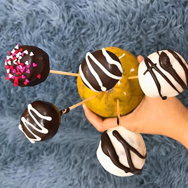 Làm socola truffles ngọt ngào tặng người ấy dịp Valentine - 6