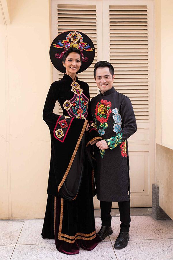 Hoa hậu HHen Niê hội ngộ siêu mẫu Hồ Đức Vĩnh - 7