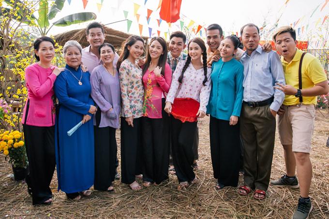 Các diễn viên Thanh Thủy, Tường Vi, Jun Phạm, Lương Thế Thành... cùng nhiều nghệ sĩ tham gia Cô Thắm về làng 3.