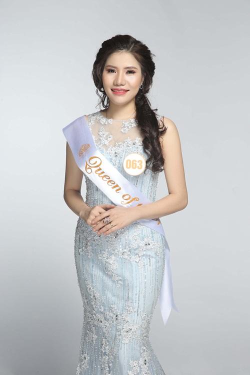 Thí sinh Dương Yến Trang (063, Hà Nội) là giảng viên thẩm mỹ tại Mandala. Cô luôn sẵn sàng học hỏi, tích lũy kiến thức mới, kỹ thuật, công nghệ làm đẹp tiên tiến tại khu vực và thế giới. Qua cuộc thi này, cô mơ một ngày không xa sẽ đưa Việt Nam trở thành một trong những cường quốc làm đẹp châu Á.