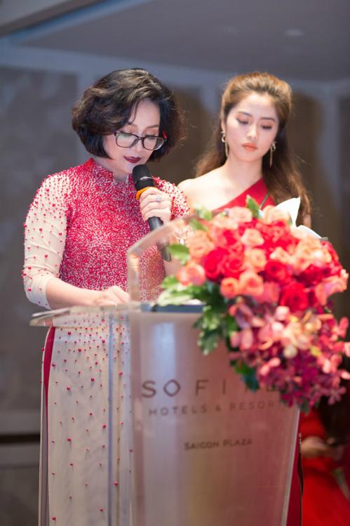 Bà Lê Thị Kim Oanh - Giám đốc Công ty TNHH Xuất nhập khẩu Ovan, nhà phân phối Arcancil tại Việt Nam.