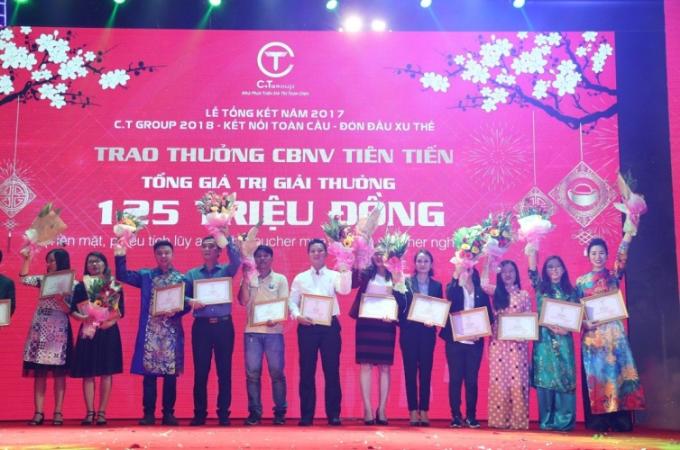 C.T Group thưởng tiền tỷ cho tập thể, cá nhân xuất sắc dịp Tết Nguyên đán - 3