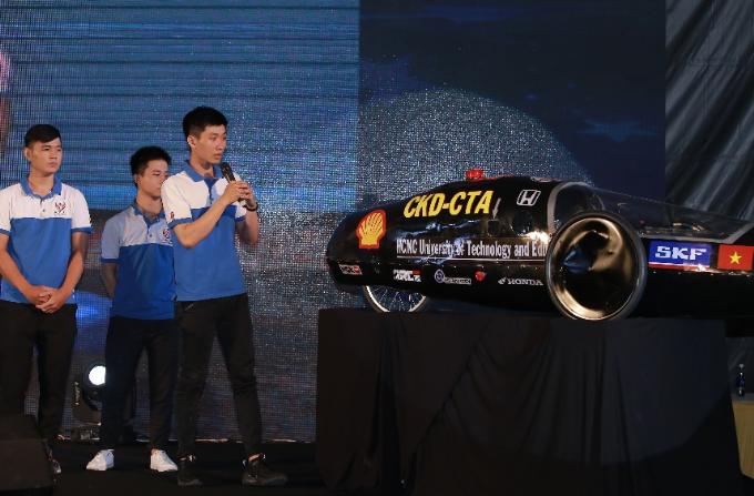 Đại diện Việt Nam tại cuộc đua Shell Eco-marathon năm 2018 là các đội đến từ Đại học Giao thông vận tải, Đại học Công nghiệp Hà Nội, Đại học Bách khoa Đà Nẵng, Đại học Sư phạm kỹ thuật TP HCM và Đại học Lạc Hồng.