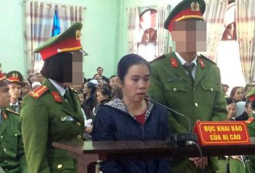 Nguyễn Thị Thảo tại tòa. Ảnh: CTV.