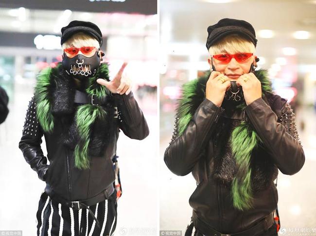 Quần áo điệu đà như chim công của diễn viên Hoàn Châu Cách cách.