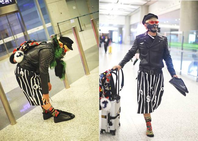 Thời trang như chim công của Phúc Nhĩ Thái Trần Chí Bằng - 4