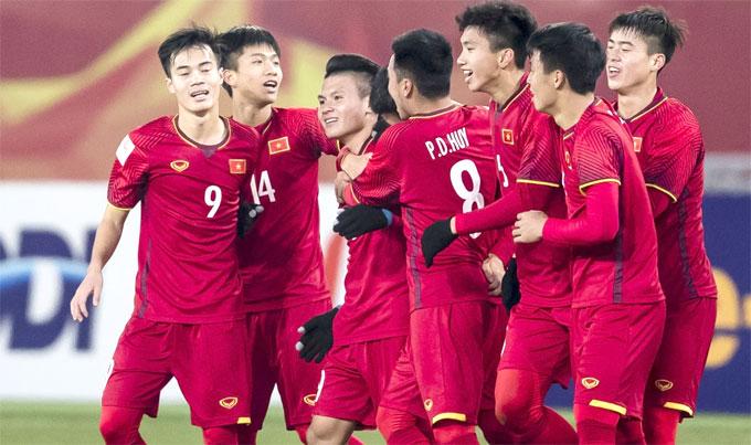 Lứa cầu thủ vàng của bóng đá Việt Nam. Ảnh: AFC.