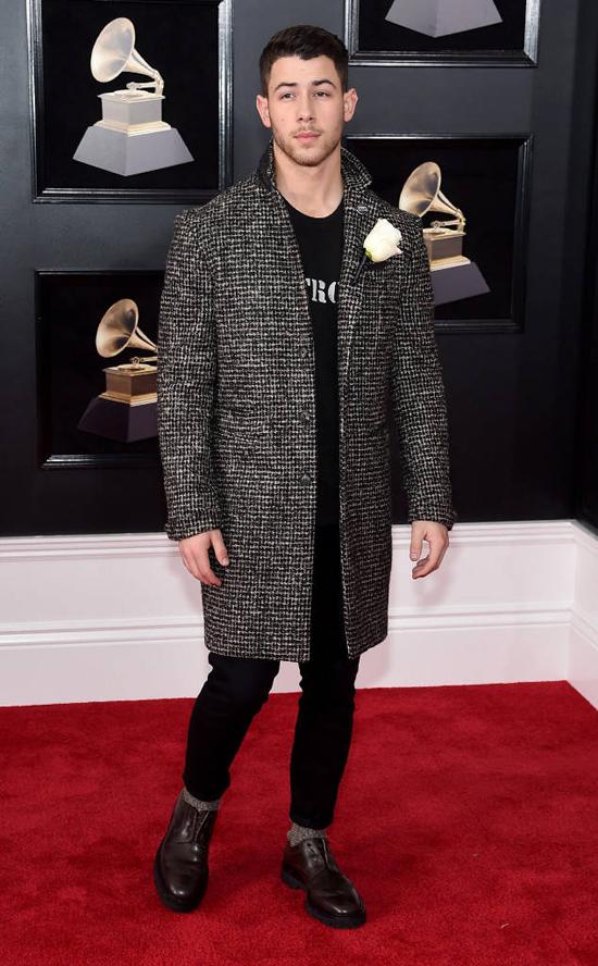 Ca sĩ Nick Jonas.