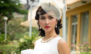 Kim Tuyến xinh đẹp trong tạo hình đệ nhất kỹ nữ Sài Gòn xưa