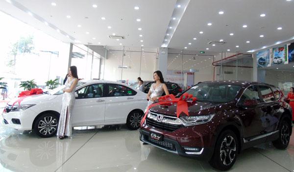 Đại lý ôtô Honda Vĩnh Phúc.