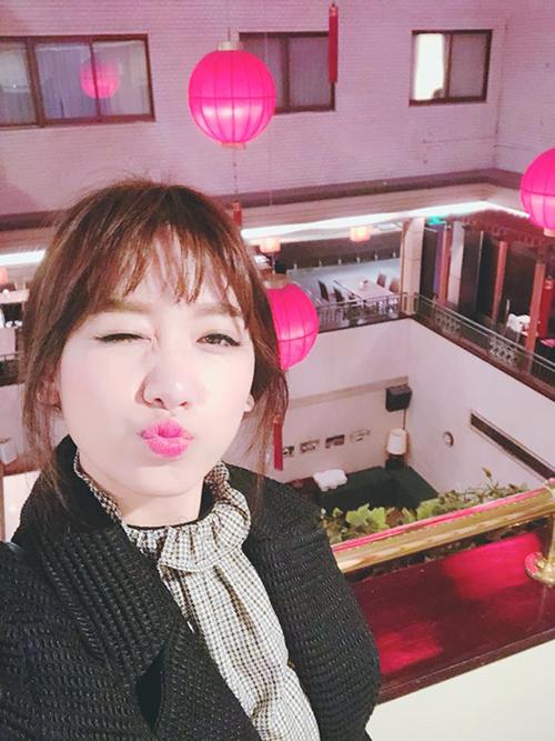 Hariwon đang có mặt ở Đài Loan chuẩn bị cho chuyến lưu diễn.