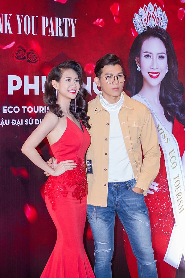 Liên Phương mở tiệc ăn mừng ngôi Á hậu 1 Hoa hậu Đại sứ Du lịch Thế giới 2017 - 6