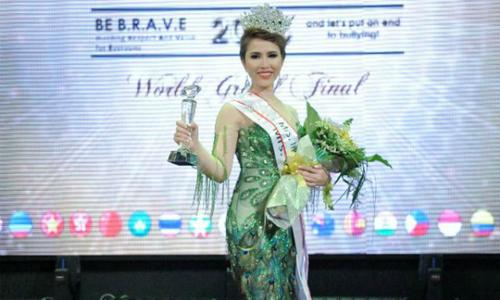 Diễn viên Hoàng Ny đăng quang Mrs International Golbal 2018 tại Malaysia