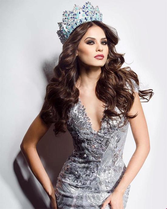 Hoa hậu Mexico, Andrea Meza, đứng vị trí thứ 4. Cô giành ngôi vị Á hậu 1 Miss World 2017 được tổ chức ở Hải Nam, Trung Quốc vào tháng 11.