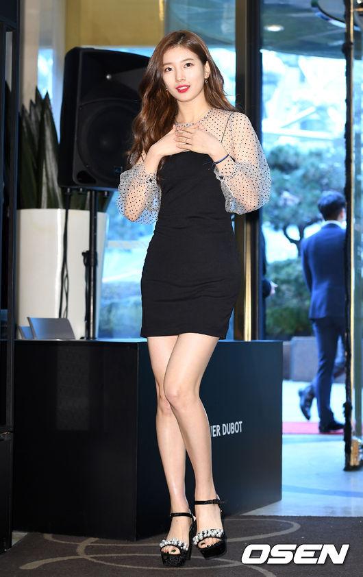 Tình cũ của Lee Min Ho diện váy ngắn, khoe lợi thế chân dài - 1