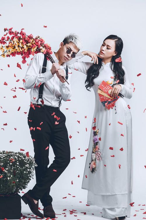 Bộ ảnh do TuArt Wedding và áo dài Tulip hỗ trợ thực hiện.