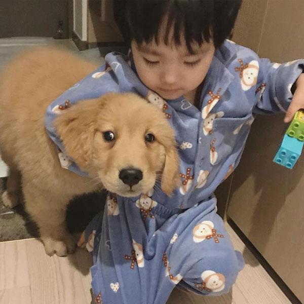 Gia đình Joo Ah Min đặt tên chú chó này là Molly và còn lập cả trang Instagram riêng cho nó.