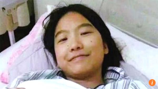 Peng mong tìm thấy bố mẹ đẻ để được ghép tủy. Ảnh: Dahe.