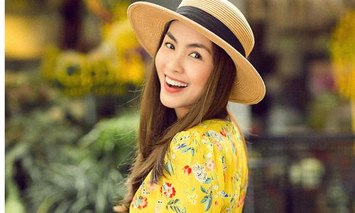 Tăng Thanh Hà gợi ý chọn váy thêu hợp mốt xuân 2018