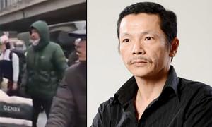 NSƯT Trung Anh xô xát với tài xế taxi trên phố, bị đánh chảy máu đầu
