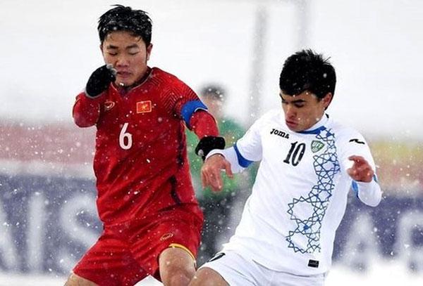 Xuân Trường làm thủ lĩnh U23 tại giải châu Á. Ảnh: AFC.