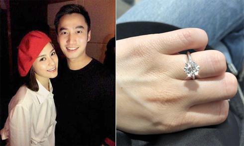 Chung Hân Đồng được bạn trai cầu hôn sau 17 năm yêu đương lận đận