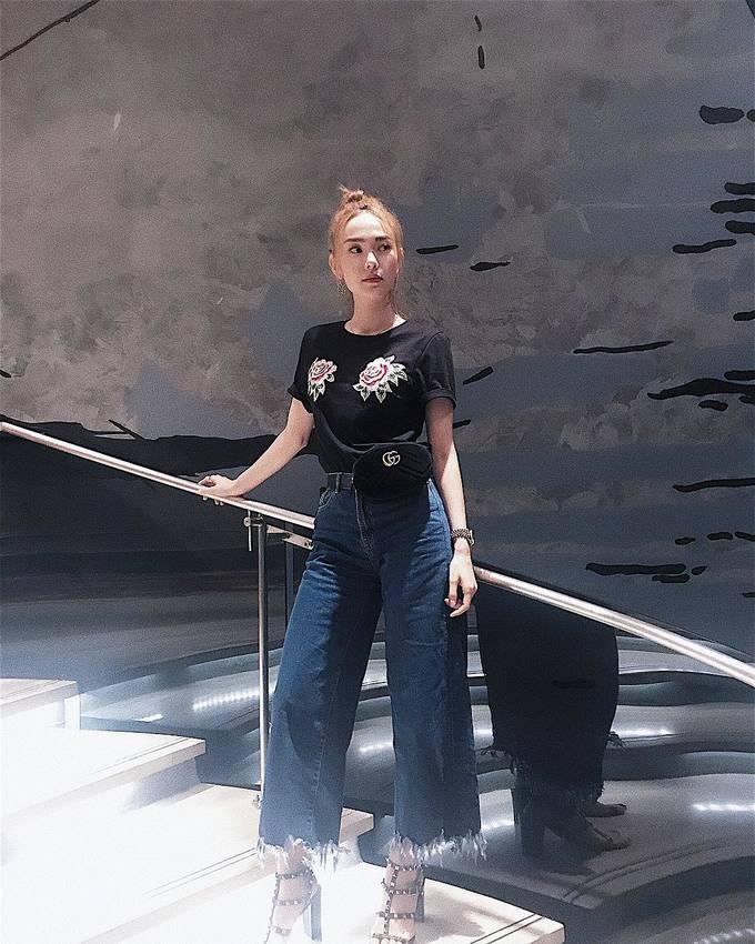 Sao Việt chuộng túi đeo hông của Gucci