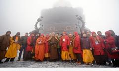 500 Phật tử ba miền tụ hội trên đỉnh Fansipan