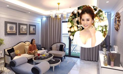 Không gian ấm cúng trong căn hộ cao cấp của Phương Oanh