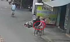 Cụ ông bị ba người phụ nữ dàn cảnh móc túi trên phố Đà Nẵng