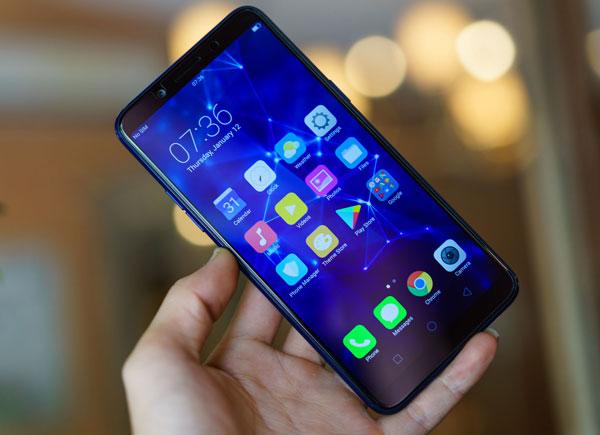 Smartphone F5 thêm phiên bản màu xanh, bán ra giới hạn - 1