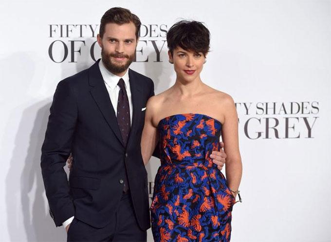 Jamie Dornan và vợ - diễn viên Amelia Warner.
