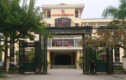 Tòa án nhân dân tỉnh Bắc Ninh nơi diễn ra phiên phân xử. Ảnh: Phạm Dự.