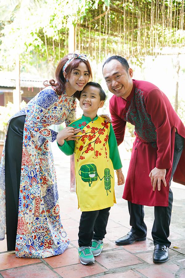 Gia đình Thu Trang - Tien Luat.