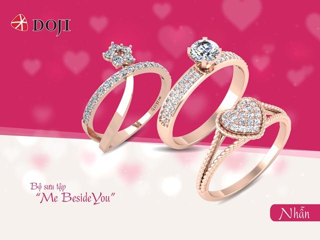 Quà tặng chiếc nhẫn trong ngày Valentine đầy ấm áp biểu tượng cho tình yêu và ước nguyện gắn kết lâu dài của các cặp đôi.