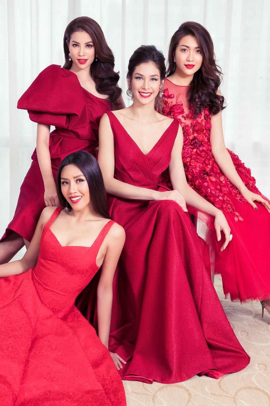 Hhen Niê và dàn người đẹp đọ sắc bên Hoa hậu Hoàn vũ Dayana Mendoza - 9