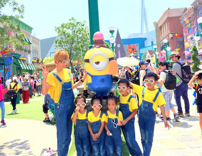 Cuộc sống lộn xộn có tổ chức trong gia đình 5 con ở Nhật