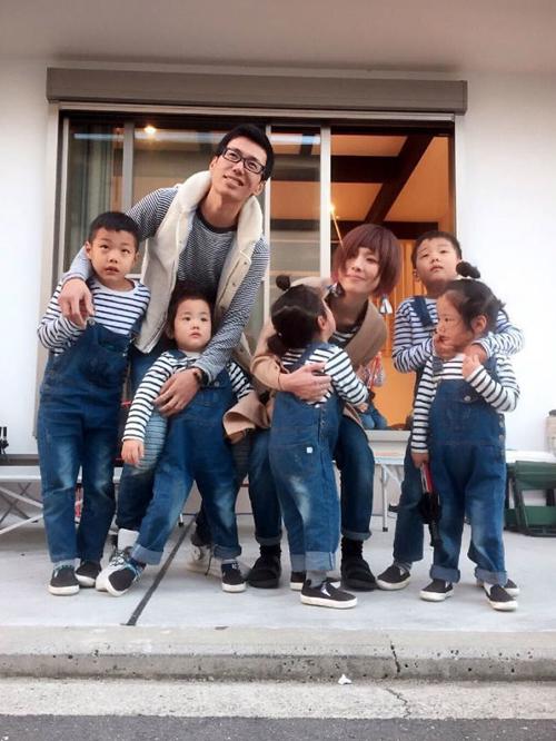 Cuộc sống lộn xộn có tổ chức trong gia đình 5 con ở Nhật - 1