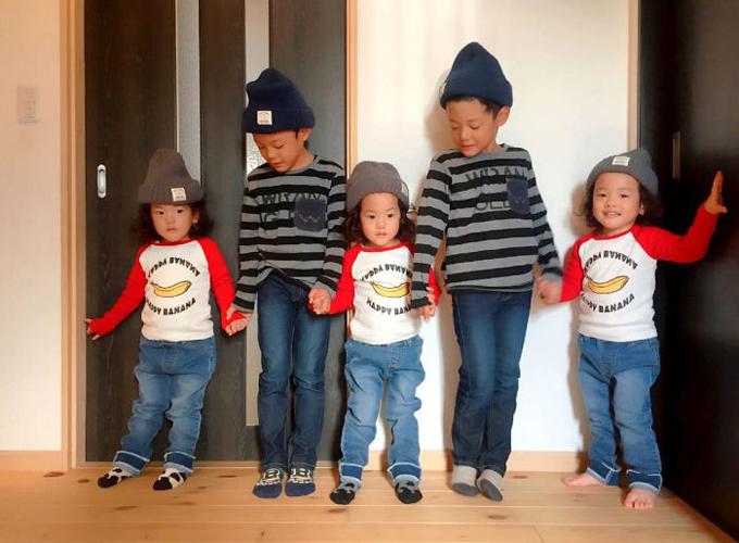 Cuộc sống lộn xộn có tổ chức trong gia đình 5 con ở Nhật - 2