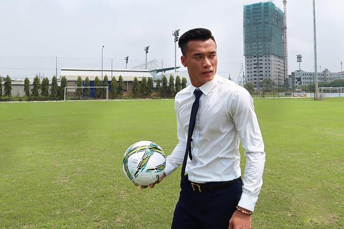 Bùi Tiến Dũng vướng vào rắc rối sau thành công ở giải U23 châu Á. Ảnh: FB.