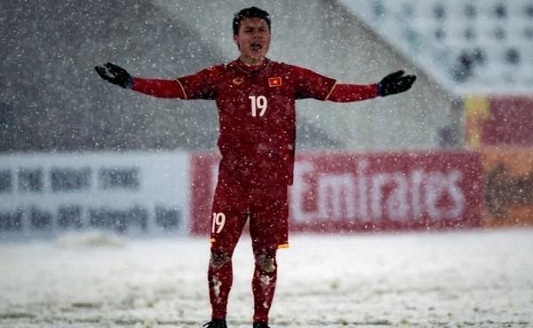 Quang Hải có màn trình diễn xuất sắc tại vòng chung kết U23 châu Á với 5 bàn thắng. Ảnh: OS.