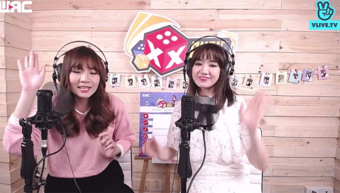 Hari hát Yêu không hối hận, Love you hate you, bài hát tiếng Hàn Roly - Poly