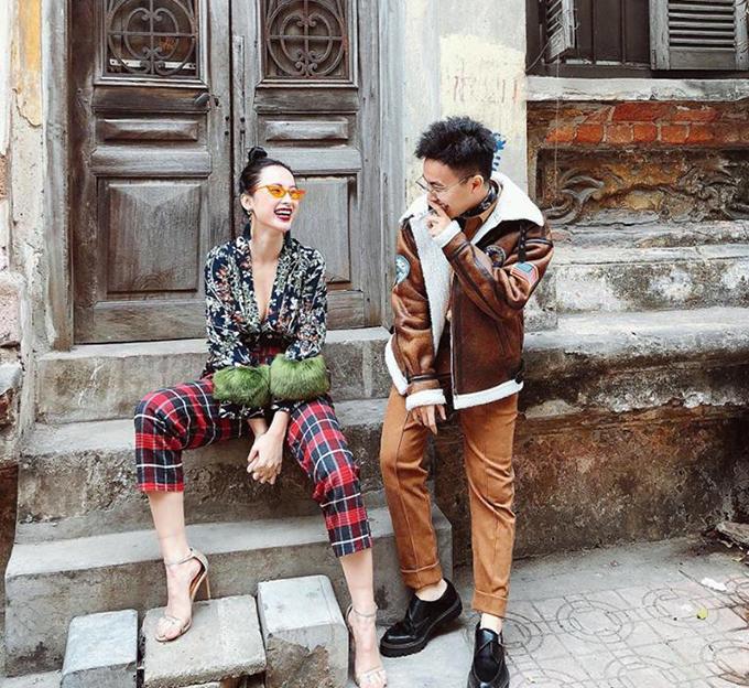 Angela Phương Trinh khoe streetstylr