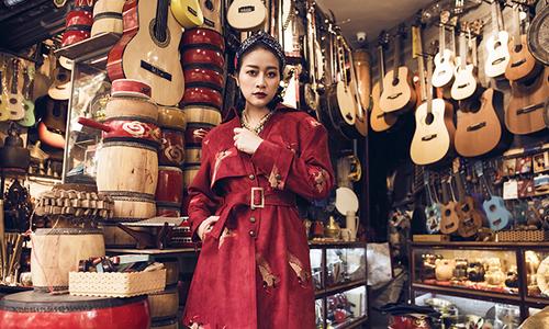 MC Phí Linh gợi ý chọn trang phục đón Tết