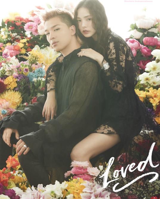 Cô dâu Min Hyo Rin khoe ngực khủng, chú rể Tae Yangđội khăn voan trongảnh cưới - 6