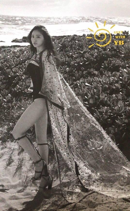 ... và đôi chân thon nuột nà. Min Hyorin là ca sĩ, người mẫu của Hàn Quốc.