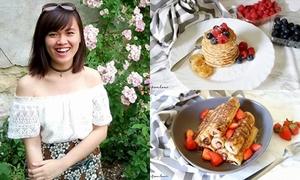 Hành trình theo đuổi đam mê làm bánh của nữ du học sinh Pháp