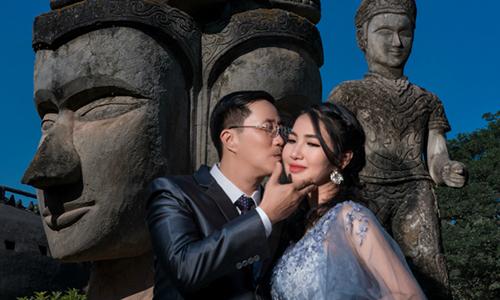 Ảnh cưới tại Lào của cặp đôi Sài thành mê 'phượt'