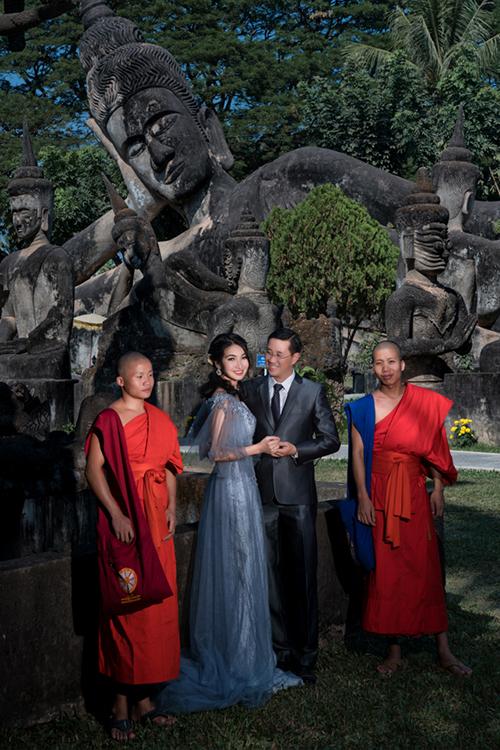 Ảnh cưới tại Lào của cặp đôi Sài thành yêu phượt