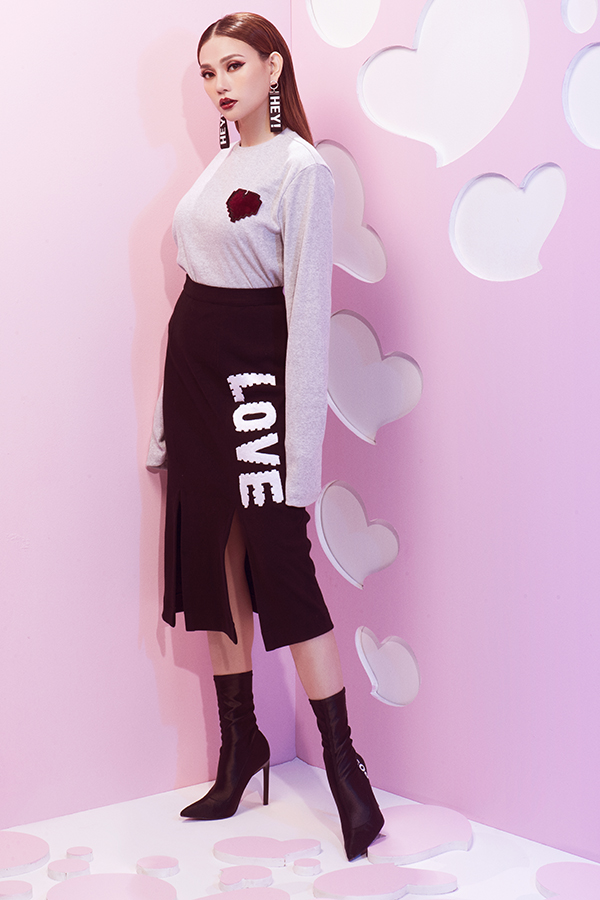 Bộ ảnh thời trang mới của Thanh Thuỷ sẽ mang tới nhiều gợi ý thú vị trong việc chọn trang phục cho mùa Valentine năm nay.